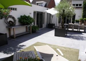 Terras tuin Oisterwijk