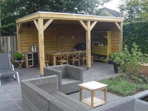 Tip van de maand september 2013 trendy tuinen - Interieur van een veranda ...